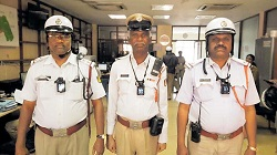 Traffic Police in Bengaluru, India, Roll Out Reveal Body Cameras