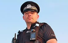 """Detective Chief Inspector Tara Williams says body-worn video """"is such a powerful thing."""""""